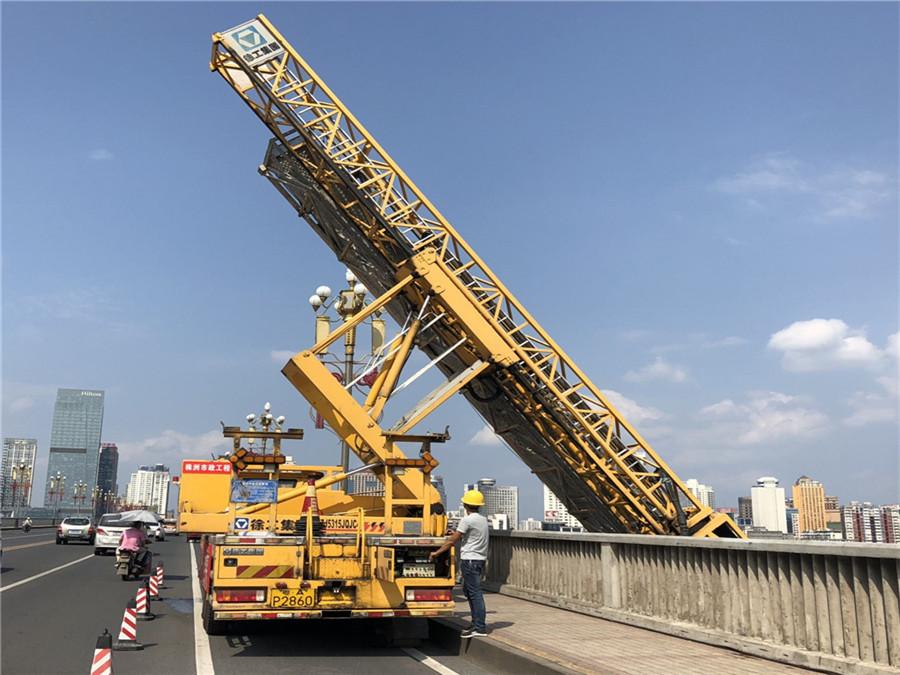 18米桥梁检测车出租