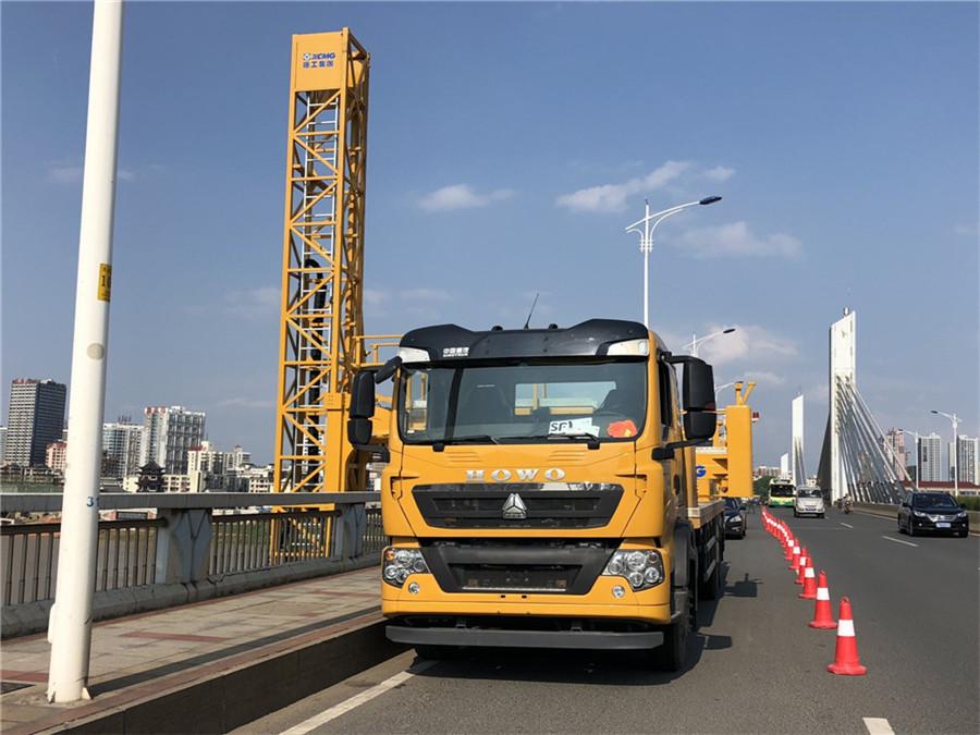 16米桥梁检测车出租